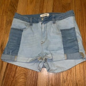 Pacsun multi toned denim shorts 29